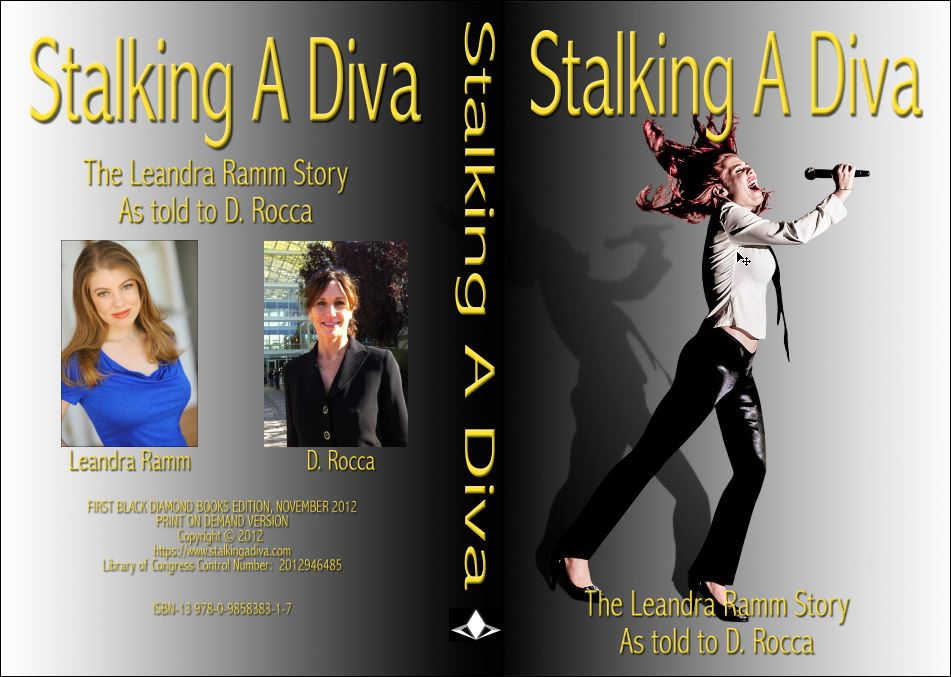 This is the full cover image from print edition of 'Stalking A Diva'
